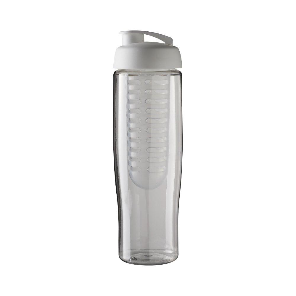 Bidon H2O Tempo® o pojemności 700 ml z wieczkiem zaciskowym zmożliwością przyrządzania wody smakowej