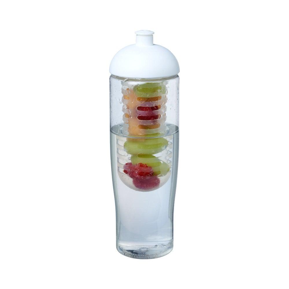 Bidon H2O Tempo® o pojemności 700 ml z wypukłym wieczkiem zmożliwością przyrządzania wody smakowej
