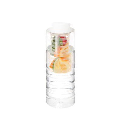 Bidon H2O Treble z o pojemności 750 ml z otwieranym wieczkiem i zaparzaczem
