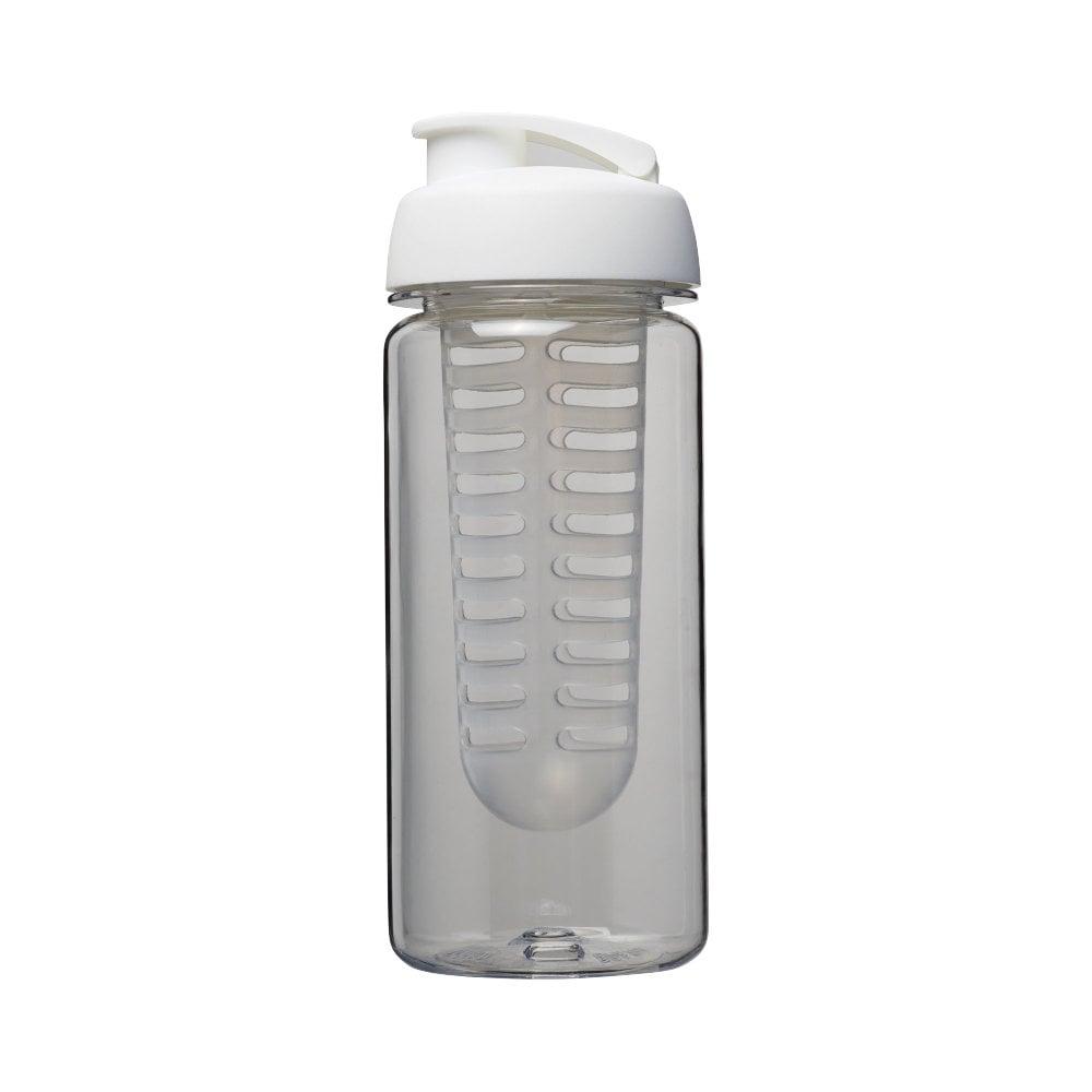Bidon Octave Tritan™ o pojemności 600 ml z wieczkiem zaciskowymz możliwością przyrządzania wody smakowej