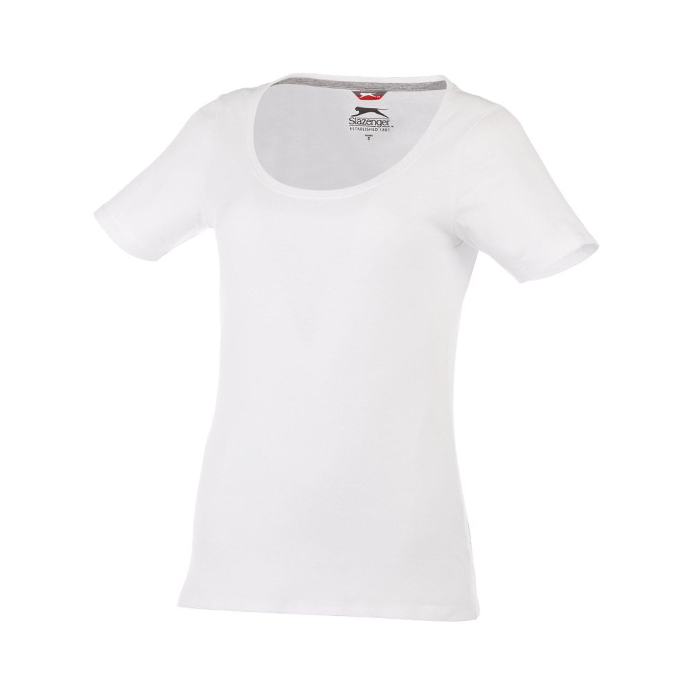Damski T-shirt Bosey z krótkim rękawem i dekoltem