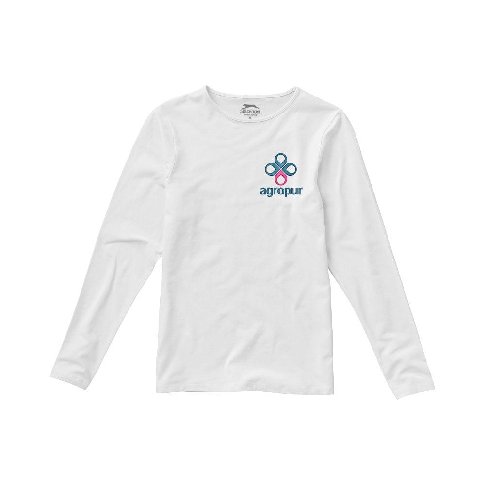 Damski T-shirt Curve z długim rękawem