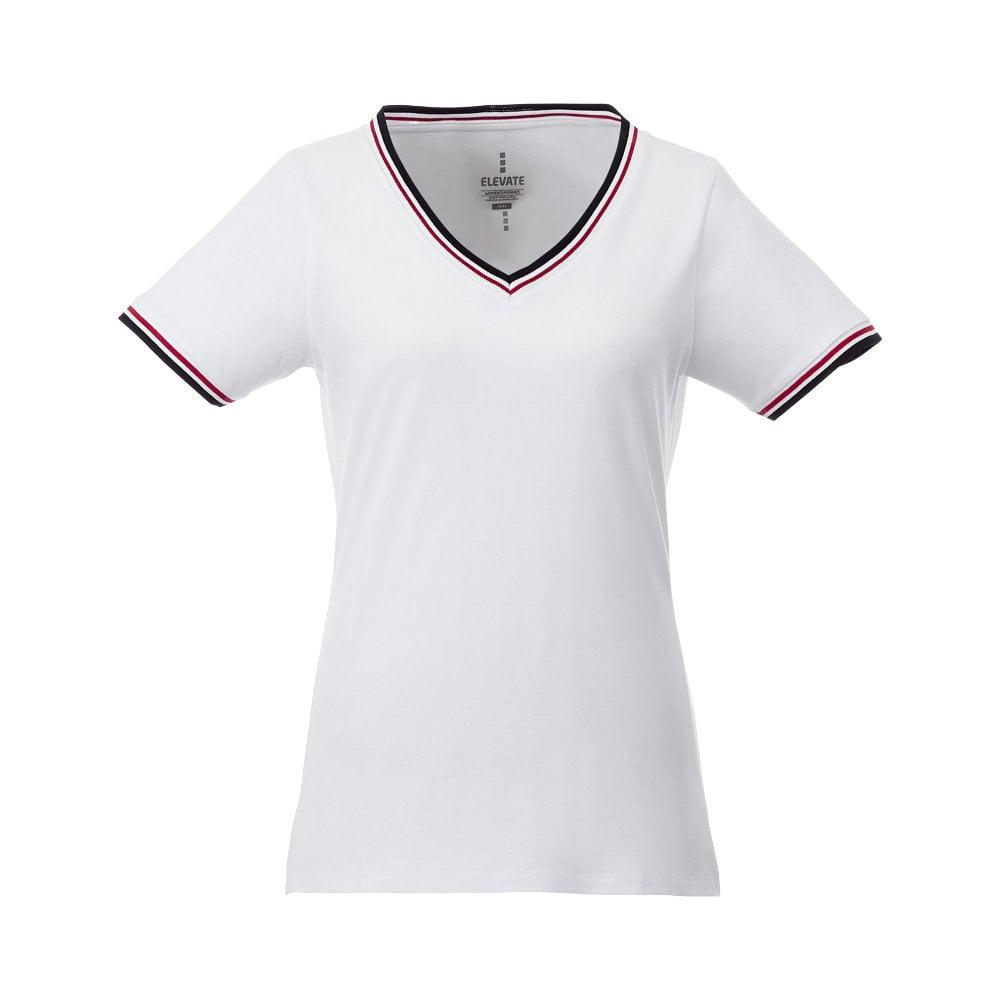 Damski t-shirt pique Elbert