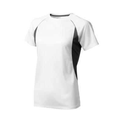 Damski T-shirt Quebec z krótkim rękawem z dzianiny Cool Fit odprowadzającej wilgoć