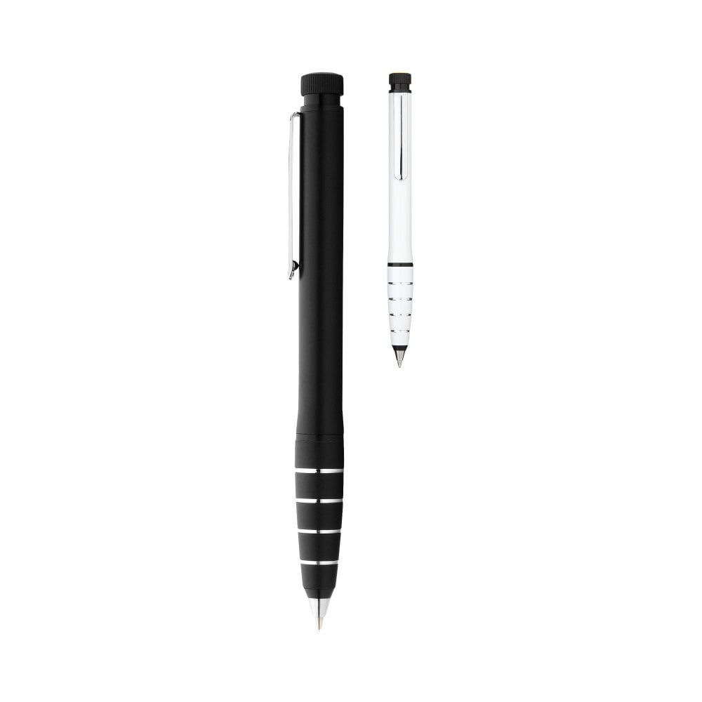 Długopis aluminiowy z zakreślaczem Jura