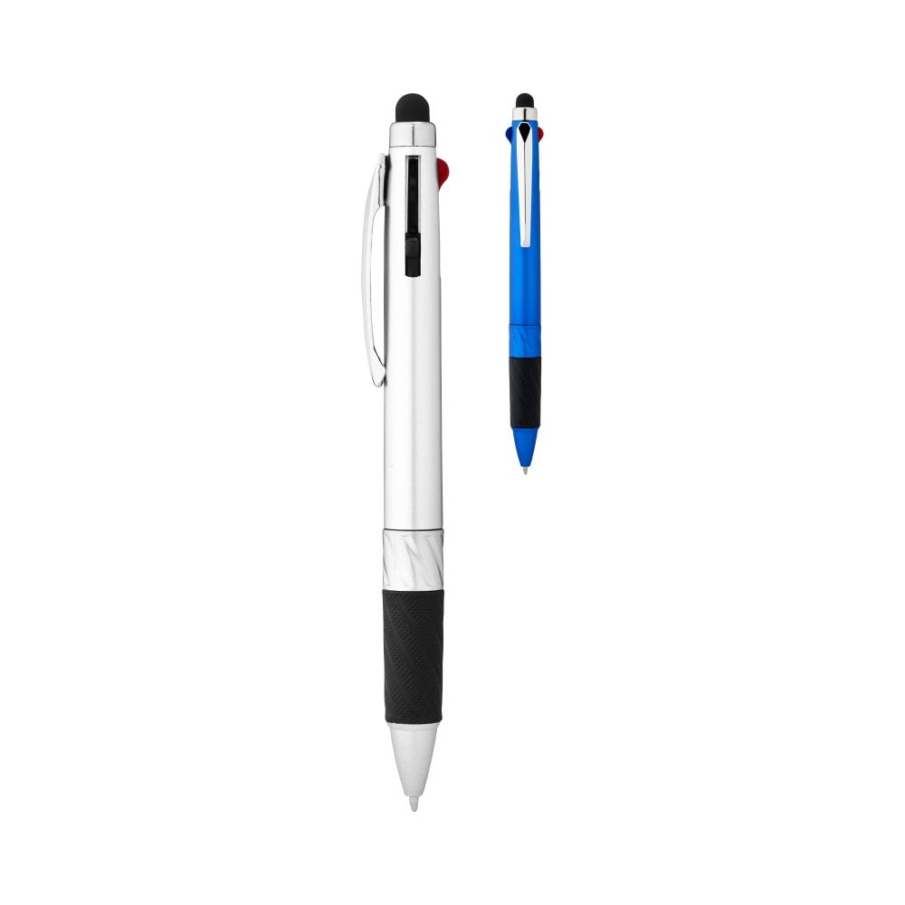 Długopis wielokolorowy ze stylusem Burnie