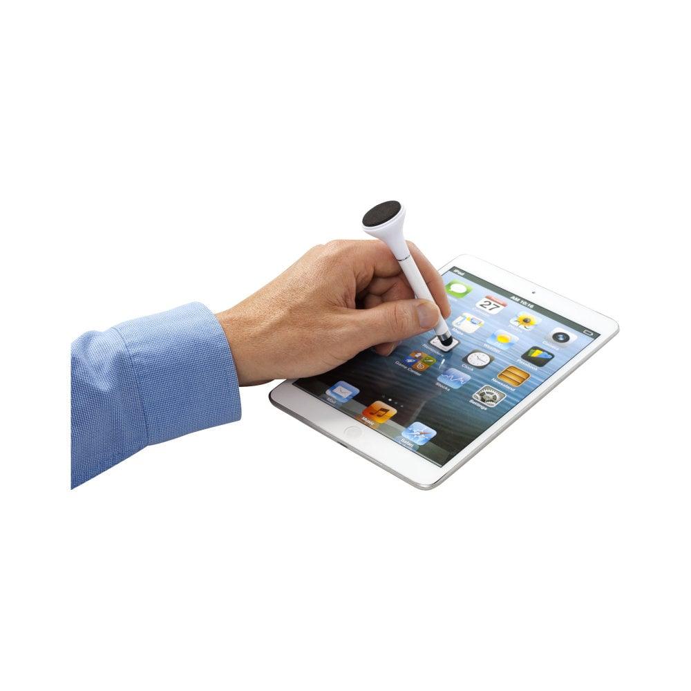 Długopis ze stylusem i czyścikiem do ekranów Sheanti