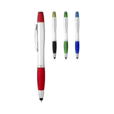 Długopis ze stylusem i zakreślaczem Nash