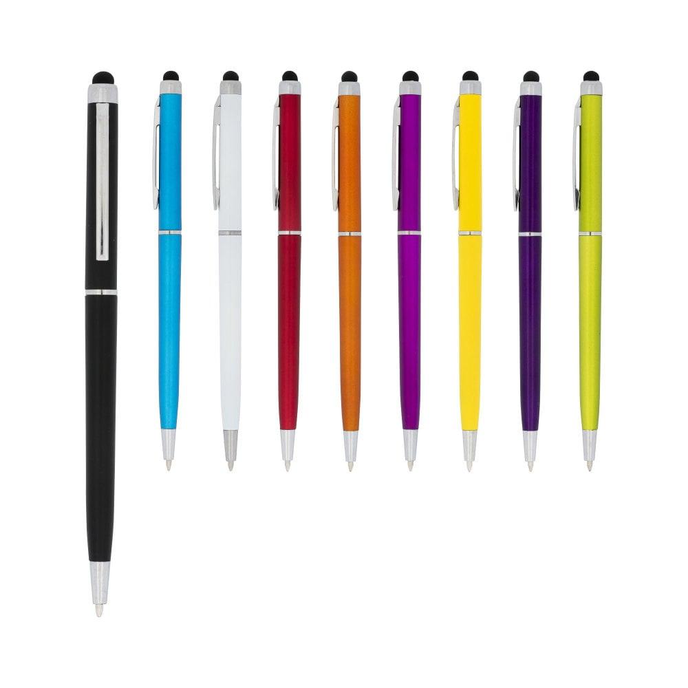 Długopis ze stylusem z plastiku ABS Valeria