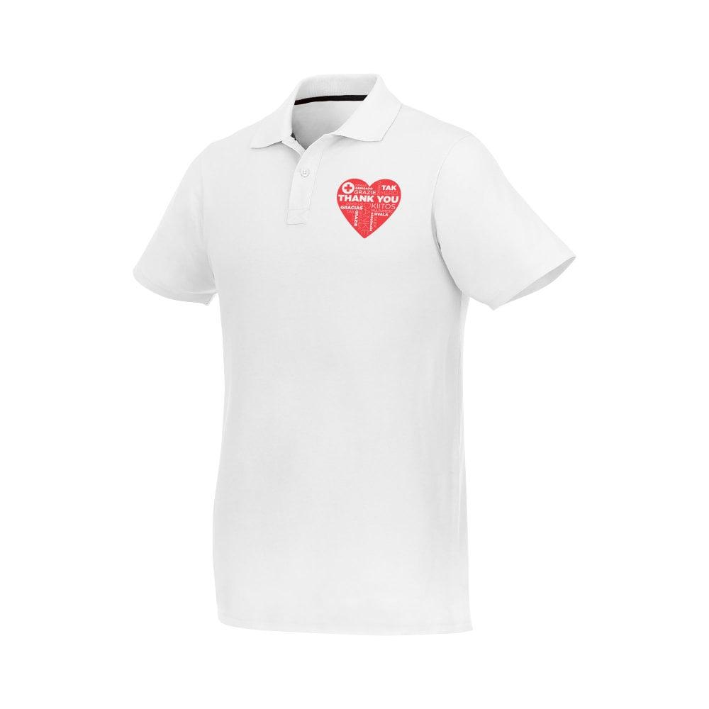 Helios - koszulka męska polo z krótkim rękawem