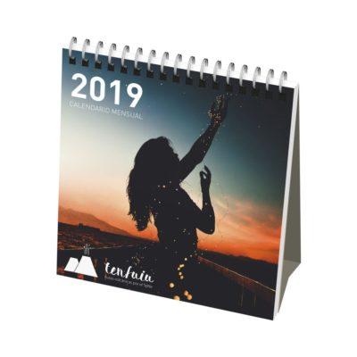 Kalendarz miesięczny na biurko Classic w miękkiej okładce