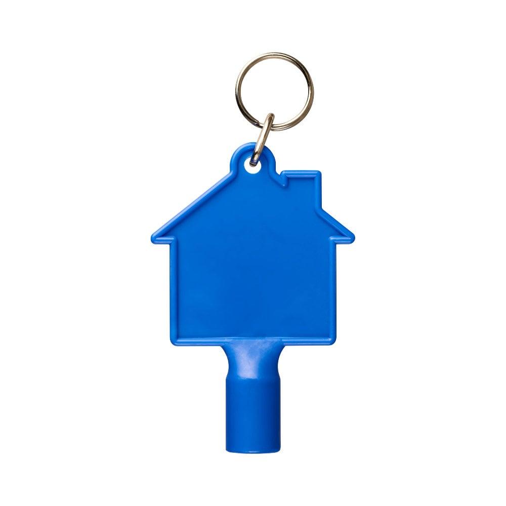 Klucz do skrzynki licznika w kształcie domku Maximilian z brelokiem