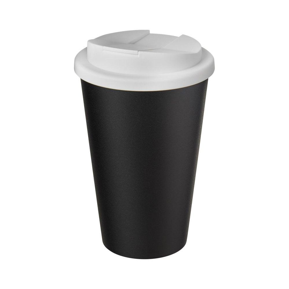Kubek Americano® Eco z recyklingu o pojemności 350 ml z pokrywą odporną na zalanie