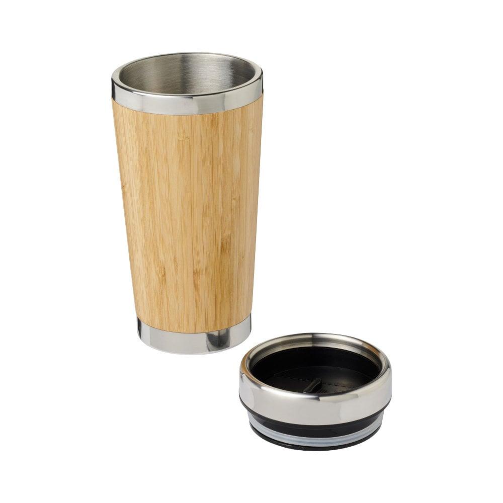 Kubek Bambus z bambusowym wykończeniem o pojemności 450 ml