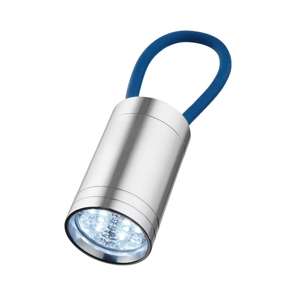 Latarka z 6 diodami LED Vela z paskiem świecącym
