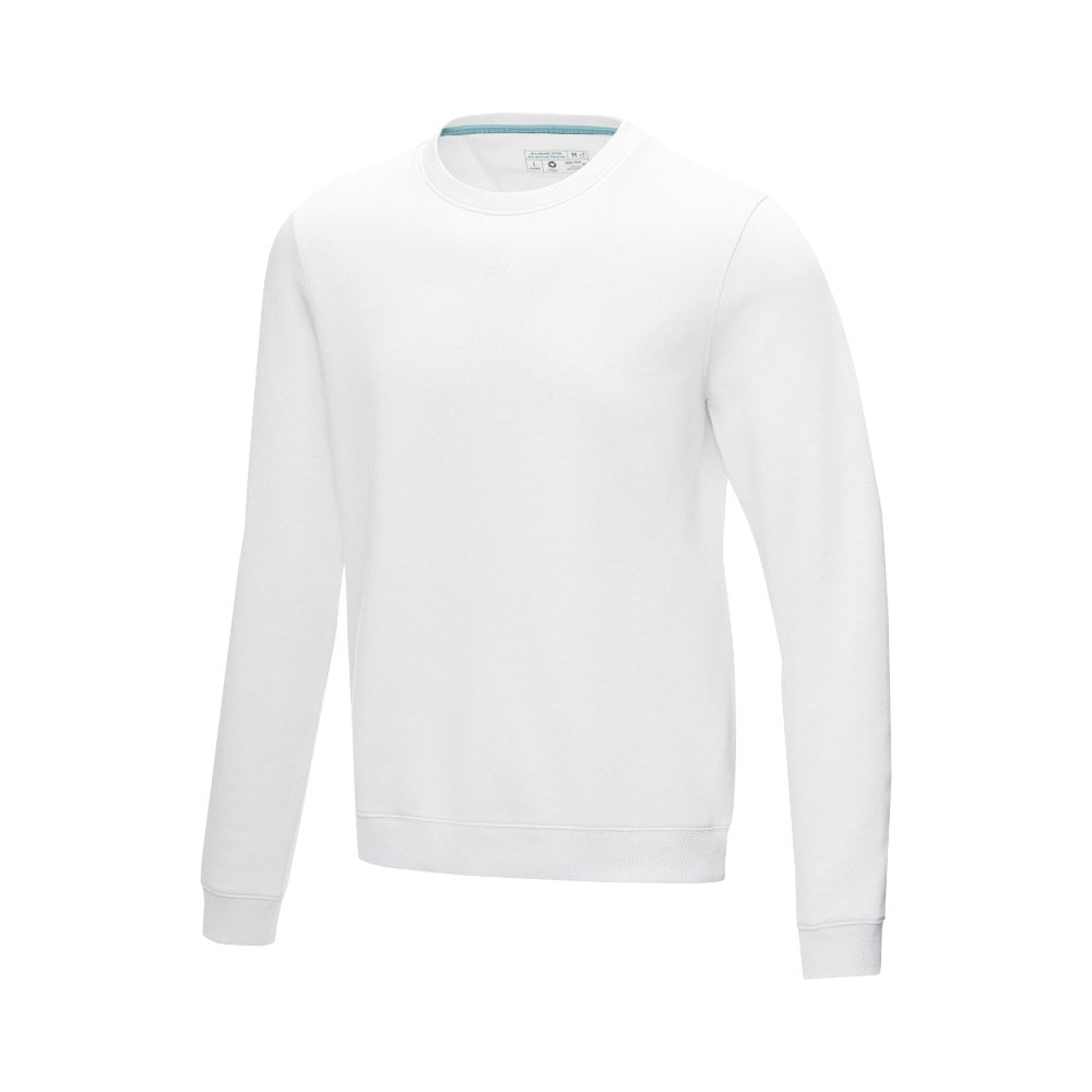 Męska organiczna bluza Jasper wykonana z GRS z recyclingu i posiadająca certyfikat GOTS