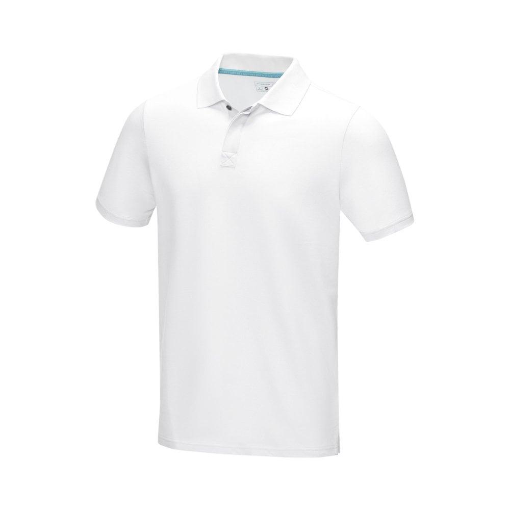 Męska organiczna koszulka polo Graphite z certyfikatem GOTS
