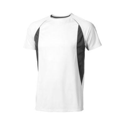 Męski T-shirt Quebec z krótkim rękawem z dzianiny Cool Fit odprowadzającej wilgoć