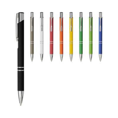 Miękki w dotyku długopis automatyczny Moneta