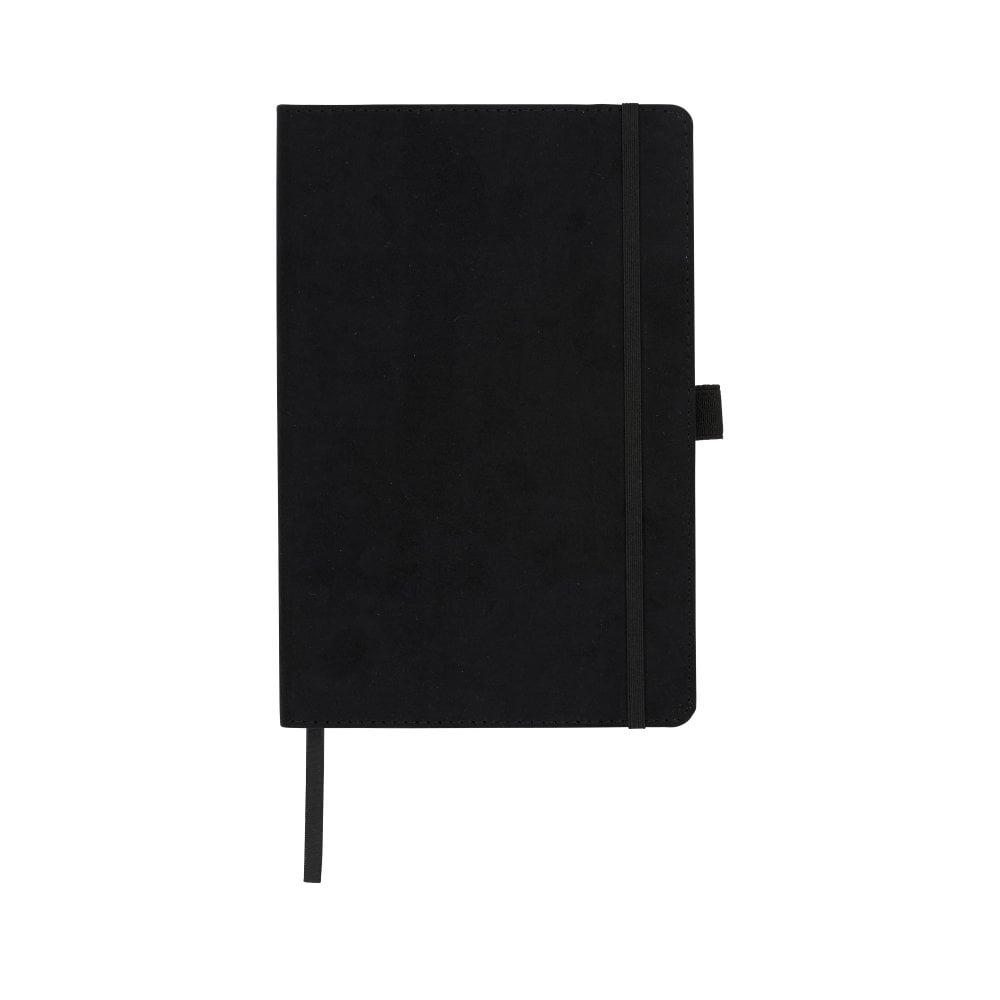 Notatnik A5 Carbony z okładką z zamszu