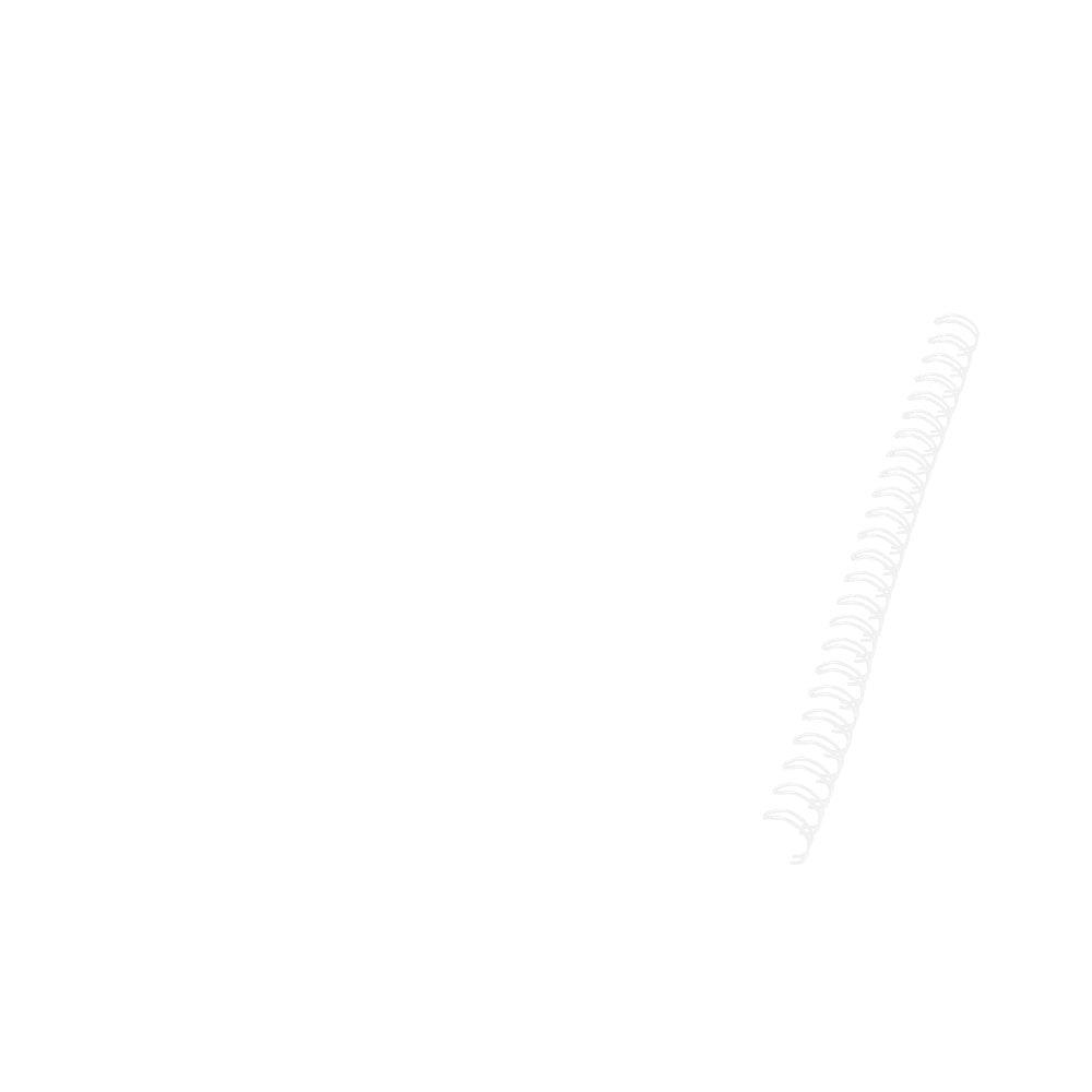 Notatnik Desk-Mate® w formacie A5 z okładką wykonaną z syntetycznego materiału.