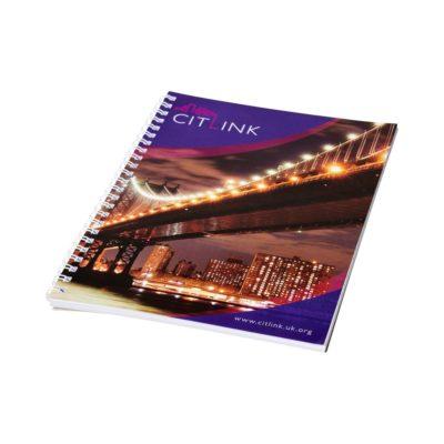 Notatnik Desk-Mate® w formacie A5 z przedziałką