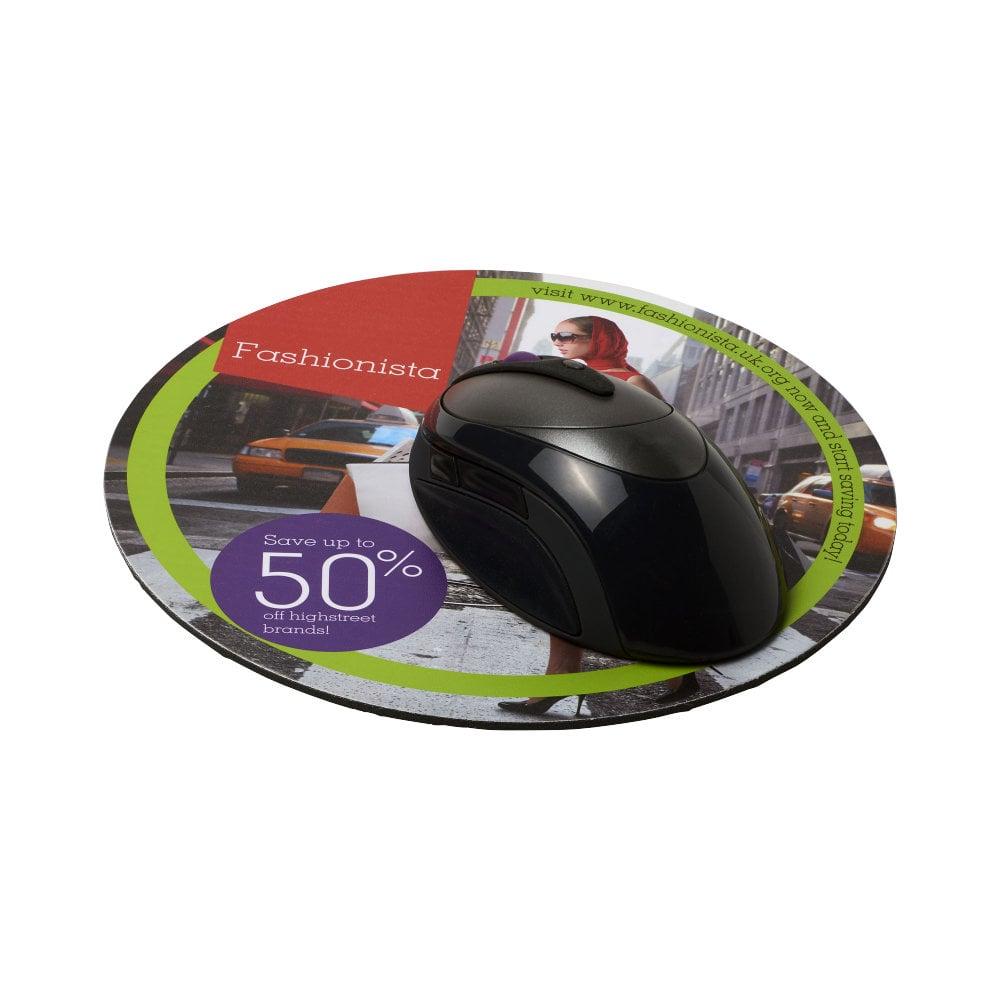 Okrągła podkładka pod mysz Q-Mat®