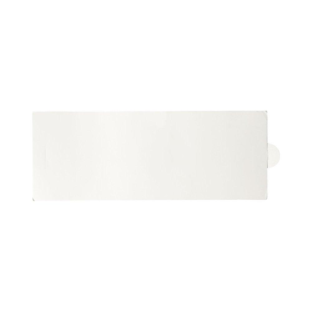 Okrągły pojemnik na długopisy Deva wykonany z tektury z wykończeniem ztworzywa sztucznego