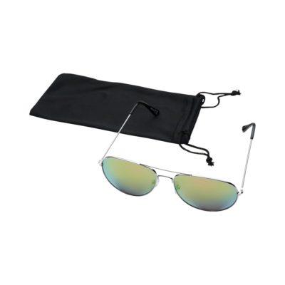 Okulary przeciwsłoneczne Aviator z lustrzanymi