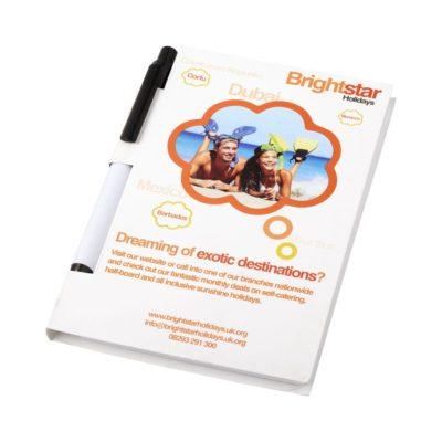Pakiet konferencyjny Essential z notatnikiem w formacie A5 i długopisem