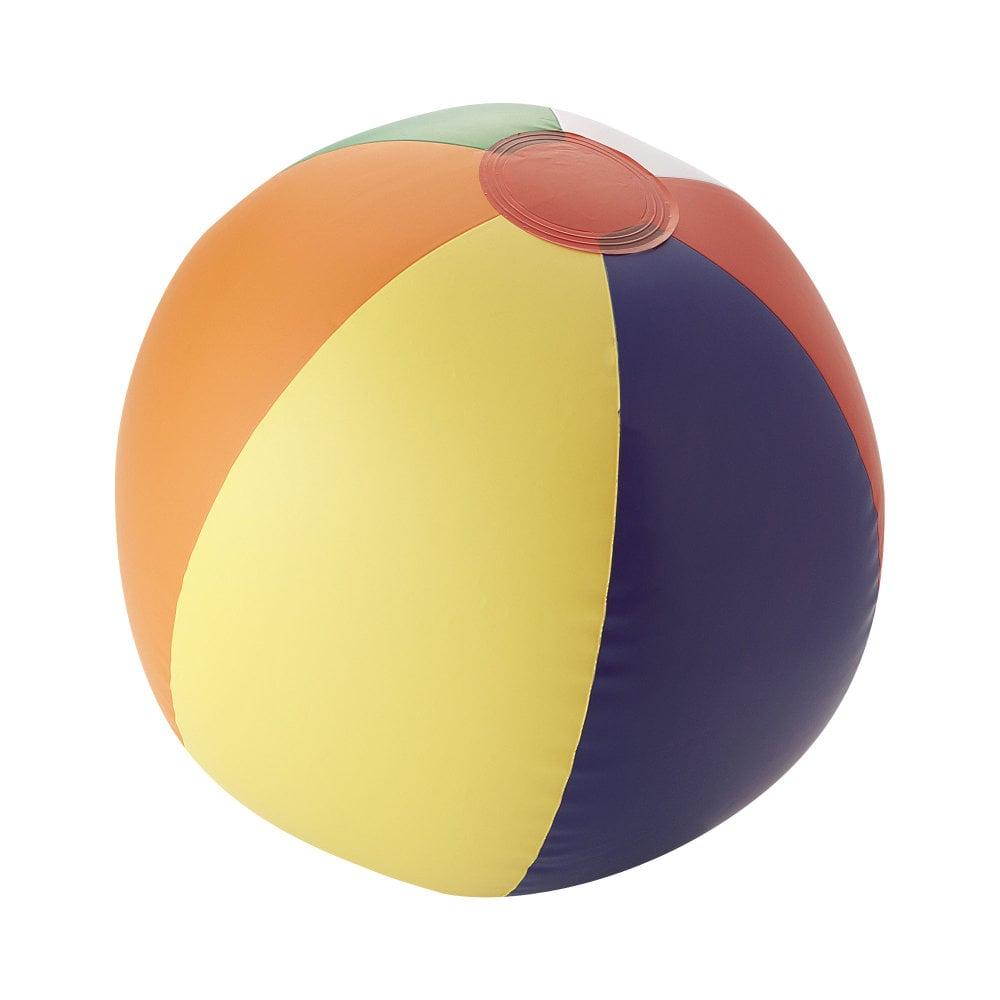 Piłka plażowa nieprzeźroczysta Rainbow
