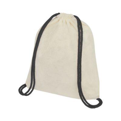 Plecak Oregon ściągany sznurkiem z kolorowymi sznureczkami