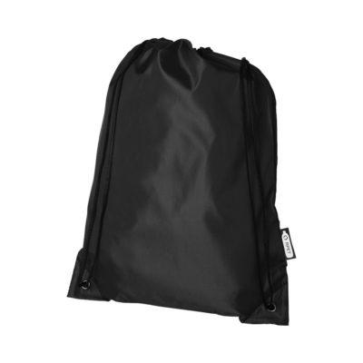 Plecak Oriole ze sznurkiem ściągającym z recyklowanego plastiku PET
