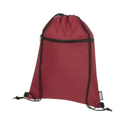 Plecak Ross  ściągany sznurkiem z plastiku z recyclingu