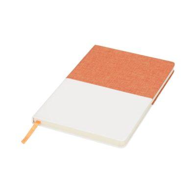 Płócienny notatnik A5 Two-tone