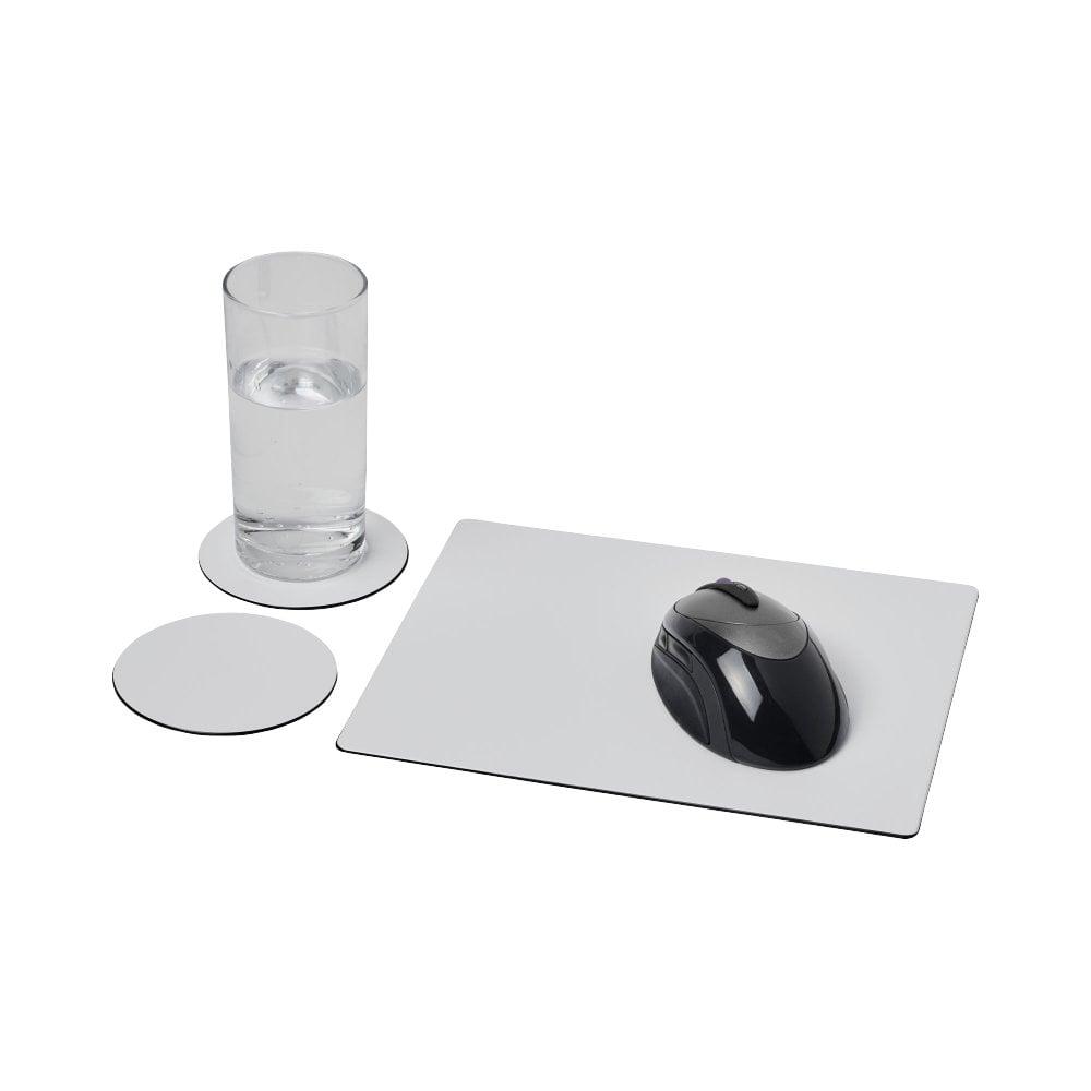 Podkładka pod mysz Brite-Mat® i zestaw podkładek pod naczynia combo 2