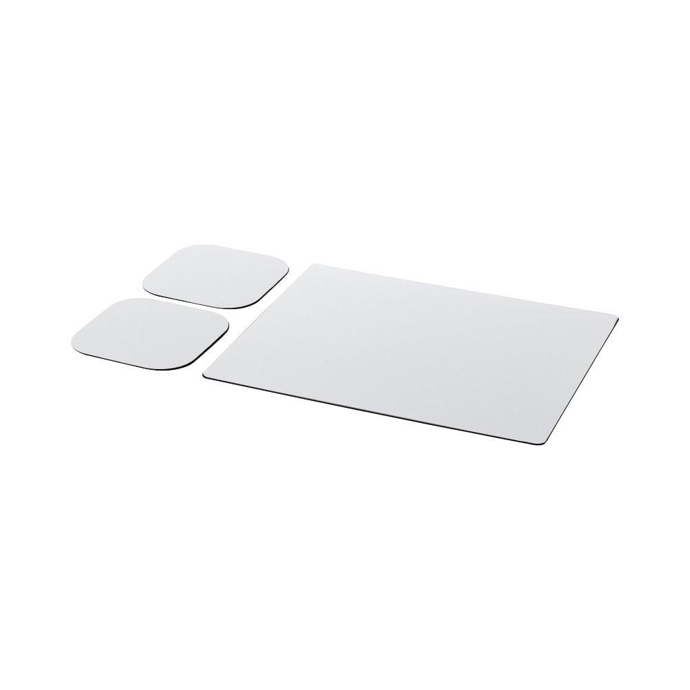 Podkładka pod mysz Brite-Mat® i zestaw podkładek pod naczynia combo 3