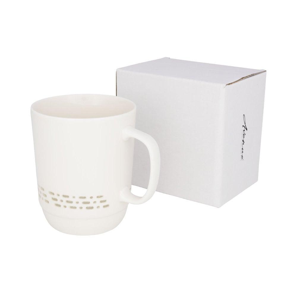 Przezroczysty kubek ceramiczny Glimpse 470 ml