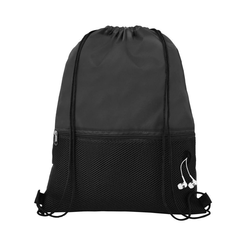 Siateczkowy plecak Oriole ściągany sznurkiem