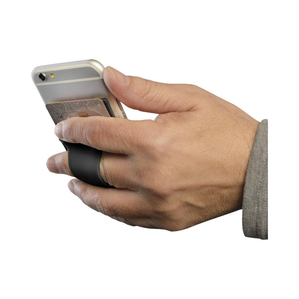 Silikonowe etui do telefonu z otworem na palec Storee