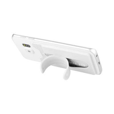 Silikonowy portfel na telefon ze stojakiem Stue
