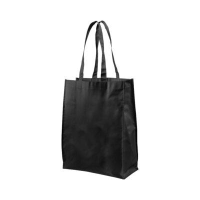 Średniej wielkości laminowana torba na zakupy Conessa