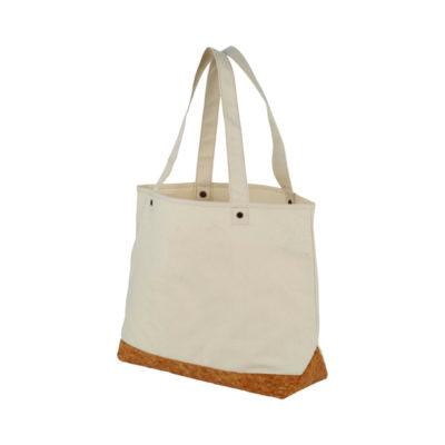 Wykonana z bawełny i korka torba Napa 406 g/m²