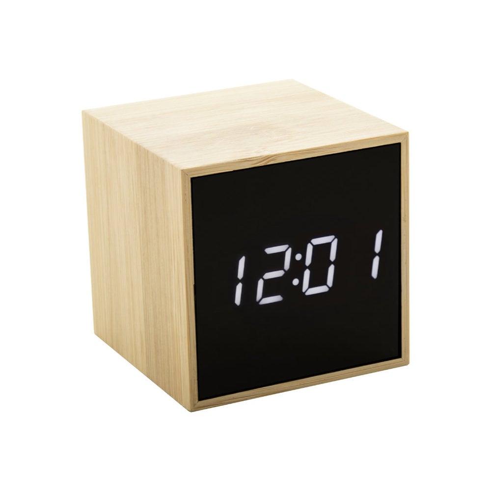 Boolarm - bambusowy zegar z alarmem