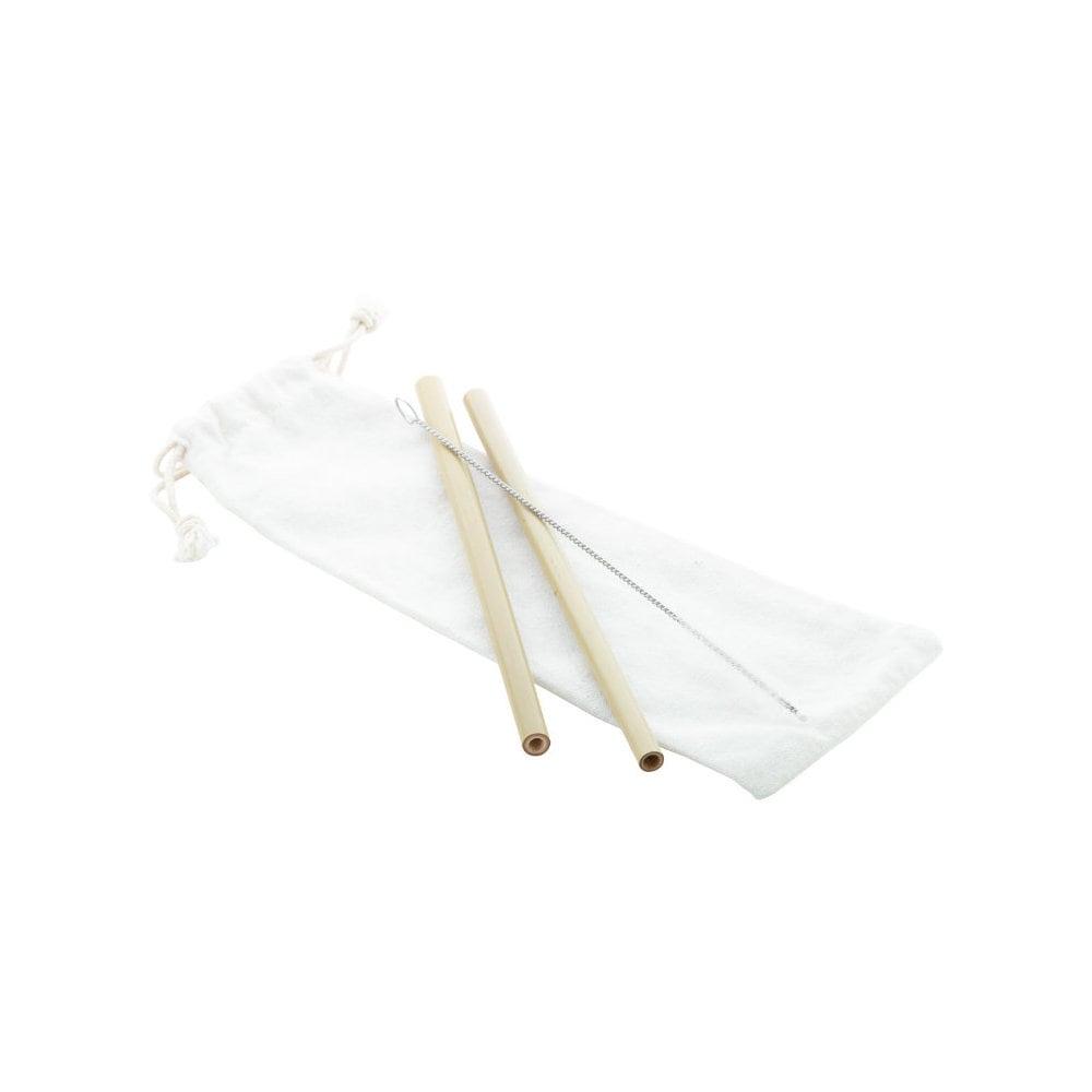 BooSip - słomka / zestaw słomek bambusowych