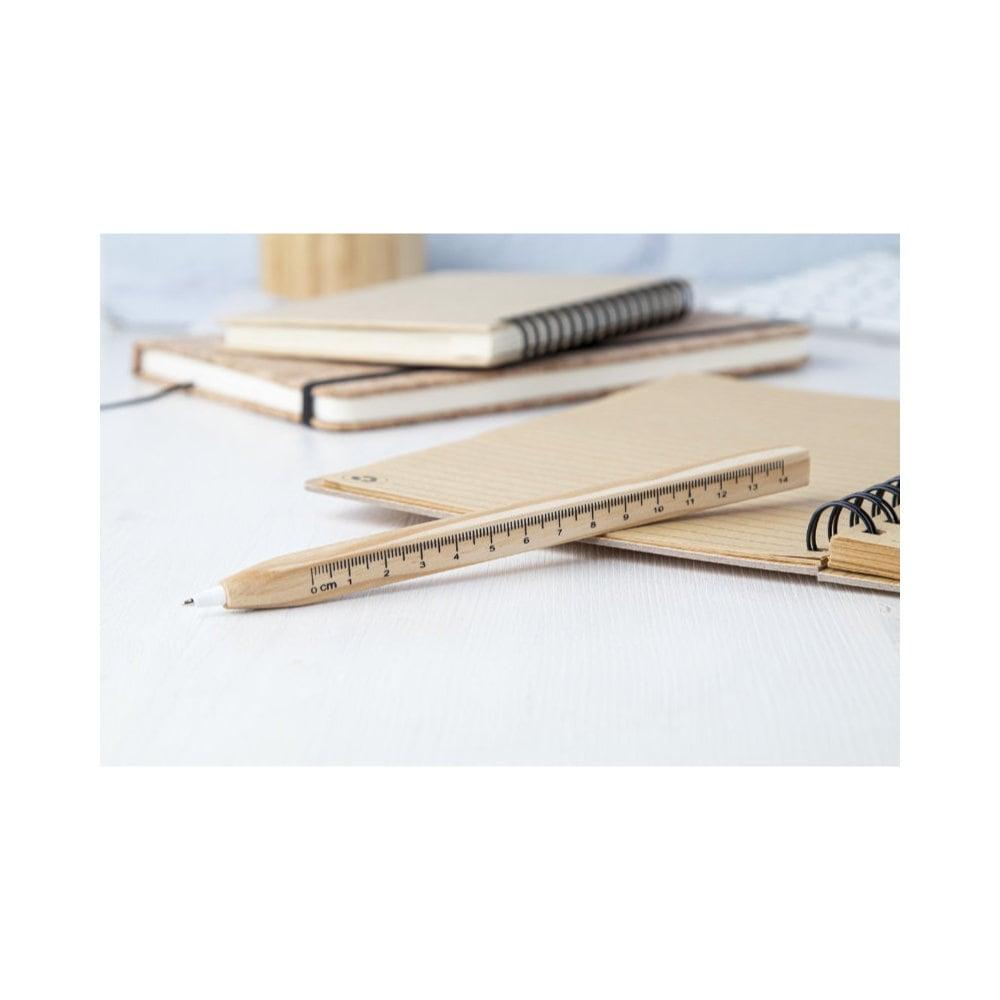 Burnham - długopis / linijka