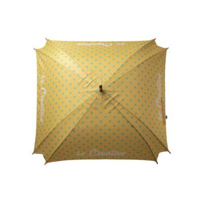 CreaRain Square RPET - personalizowany parasol