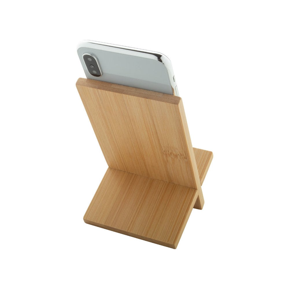 Gibba - bambusowy uchwyt na telefon