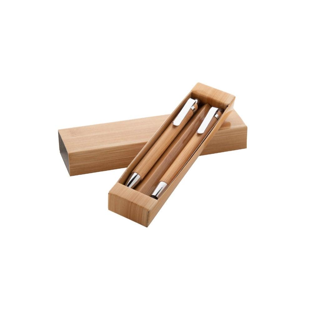 Heleon - bambusowy zestaw piśmienniczy
