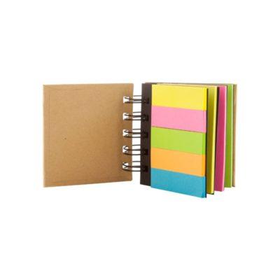 Laska - notatnik z karteczkami samoprzylepnymi